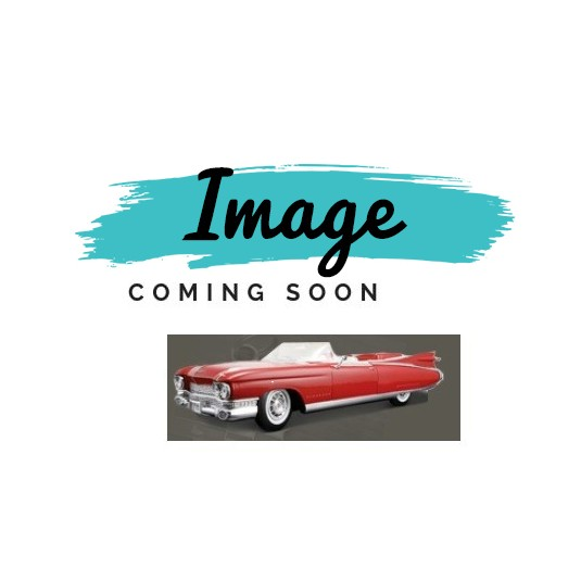 1959 1960 Cadillac Coupe Deville Rear 1/4 Script REPRODUCTION Free Shipping In The USA